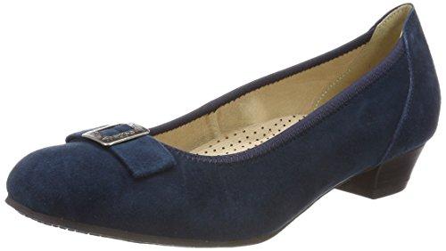 017 Femme Andrea Bleu Pumps Conti dunkelblau 3004550 YxwSRq7
