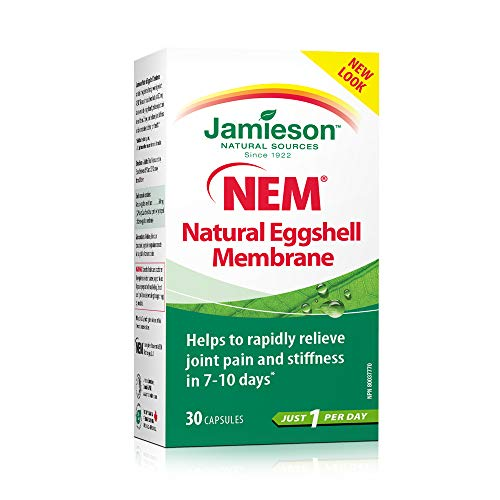 (Jamieson NEM Natural Eggshell Membrane, 30 caps )