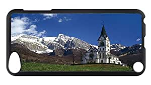 iPod Touch 5 Case, Dreznica Church PC Hardshell Case for iPod Touch 5 /iPod 5/ iPod 5th Generation0 Black