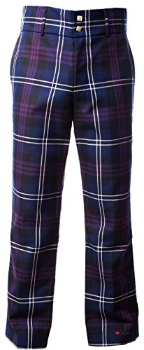Wool Tartan Trousers Heritage Pure Scottish Of Men's Scotland Traditional qAZfSS