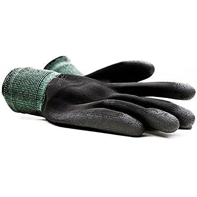Montana Black Nylon Gloves Large
