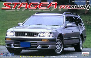 1/24 Nissan Stagea RS FourV 1996 (Model Car)