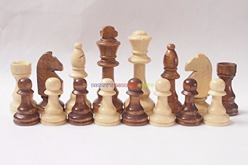 New Wooden Chess Set 32 Pieces - King 4