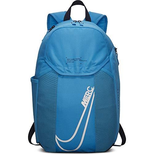 Mercurial Backpack (Blue Hero) (ONE SIZE) (Nike Soccer Ball Bag)