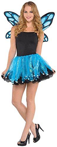 Blue Sparkle Fairy Costume Kit