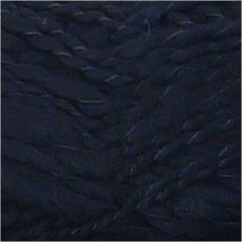 BambooMN Brand - Poodle Black Thick Thin Bamboo Fiber Wool Yarn - 100g/Skein - 2 (2 Spun Bamboo)
