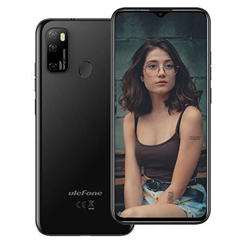 "4G Unlocked Smartphones, Ulefone Note 9P Android 10 Phone Octa-core 4GB + 64GB ROM, 16MP+8MP+5MP+2MP Four Camera, 6.52"" HD+ Screen 4500mAh Big Battery Dual SIM International Unlocked Phone -Black"