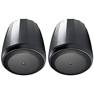JBL Professional C67P/T Extended Range Full-Range Hanging Pendant Speaker, Black, Sold as Pair