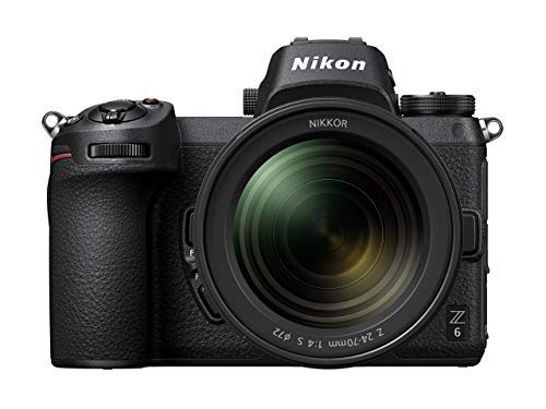 Nikon Z6 FX-Format Mirrorless Camera Body w/NIKKOR Z 24-70mm f/4 S (Renewed)
