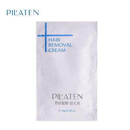 Enjocho 1pc PILATEN Mild Hair Removal Cream for Boby Leg Pubic Hair Armpit Depilatory Paste