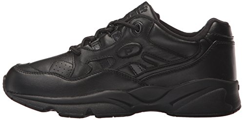 Propet Women's W2034 Stability Walker Sneaker,Black,8 N (US Women's 8 AA)