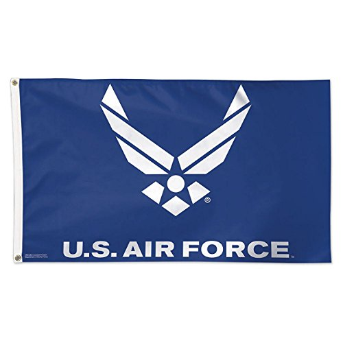 WinCraft United States Military Air Force Deluxe Flag, One Size ()