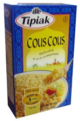 Tipiak Couscous, 17.6-Ounce Packages (Pack of 12) by Tipiak