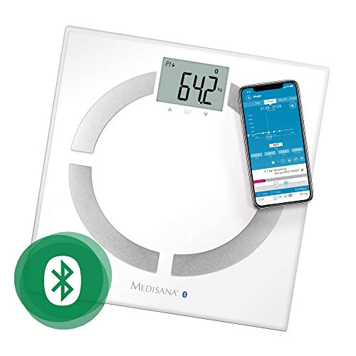 🥇 Medisana BS 444 Connect – Báscula Analítica Digital  con Appm