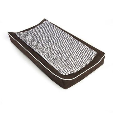 Oilo Changing Pad Cover and Topper, Brown by Oilo