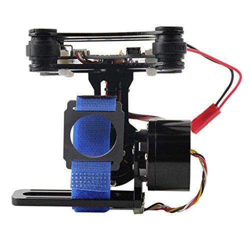 Fityle DJI Gopro3 3+ 4対応 2軸 モーター 航空撮影用 カメラ 飛び上げ ジンバル  モーター 防振ゴム付き 超安定性