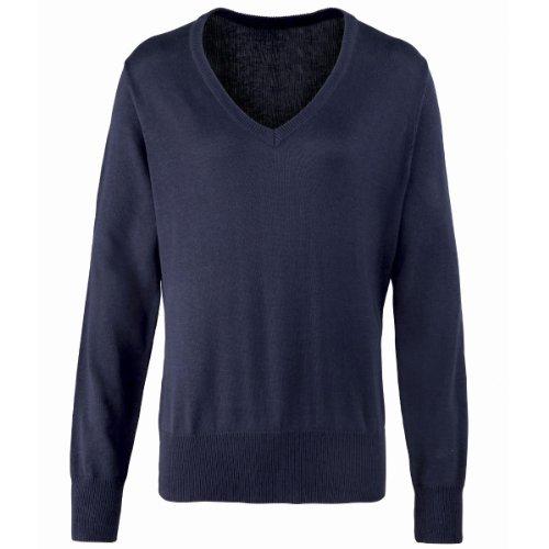 Premier Workwear - Camisa - Mujer Azul azul marino 38