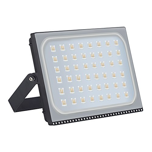 Missbee 300W Led Flood Light, Thinner Lighter Outdoor Security Light, 33000Lm,Warm White 6000-6500K, IP67 Waterproof, Landscape Spotlights for Garage, Yard, Lawn and Garden