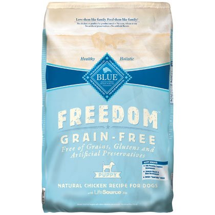 Blue Buffalo Freedom Grain Free Chicken Recipe Puppy Dry Dog Food, 24-Pound, My Pet Supplies