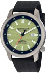Momentum Men's 1M-SP20Y8B Logic Watch with Rubber Strap
