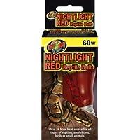 Zoo Med Nightlight Red Reptile Bulb (60 Watt)