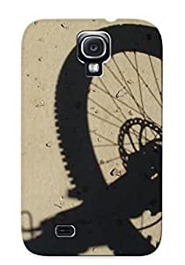 lintao diy Forever Collectibles Mountain Bike Wheel Hard Snap-on Galaxy S4 Case With Design Made As Christmas's Gift