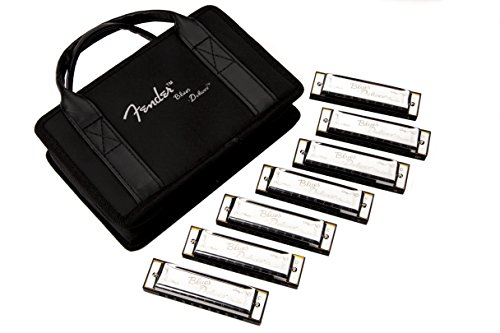 Fender Blues Deluxe Harmonica, 7-Pack with ()