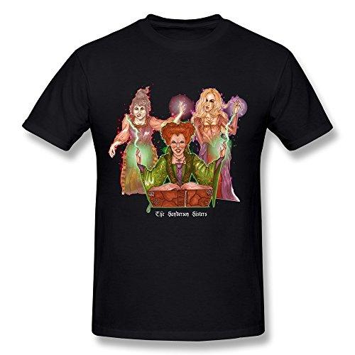 Masam Men's Hocus Pocus The Sanderson Sisters T Shirt (Jamie Benn Halloween)