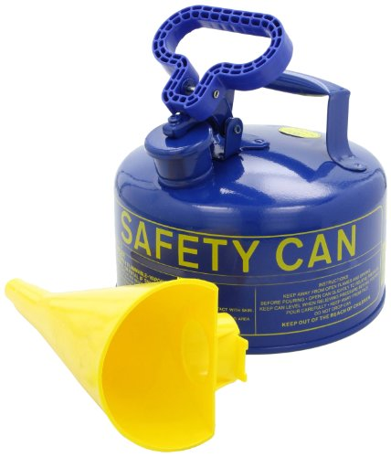 Eagle UI-20-FSB Type I Metal Safety Can with F-15 Funnel, Kerosene, 11-1/4
