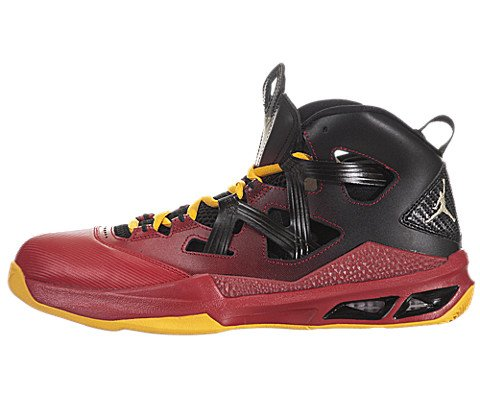 super popular 89e66 3f976 Galleon - Nike Men s Jordan Melo M9 Blck Mtlc Gld Str Gym Red Unvrs  Basketball Shoes 9.5 Men US