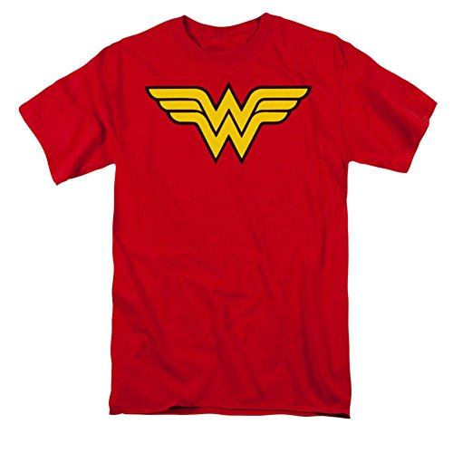 Wonder Woman Classic Logo Adult Mens T-Shirt