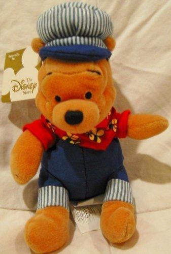 Disney Bean Bag Plush-Choo Choo Pooh ()