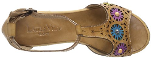 Laura Vita Women's Belfort 88 T-Bar Sandals Beige (Beige Beige) cheap official site buy cheap newest lowest price free shipping Manchester outlet low shipping M0Ujtr