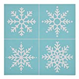 CHZIMADE Christmas Theme Self-Adhesive Silk Screen Stencil Printing Mesh Transfers for Bag, T-Shirts, Paper, and Home Decoration: more info
