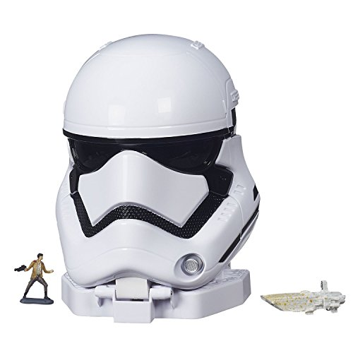 [STAR WARS THE FORCE AWAKENS MICROMACHINES FIRST ORDER STORMTROOPER PLAYSET] (Stormtrooper Disney)