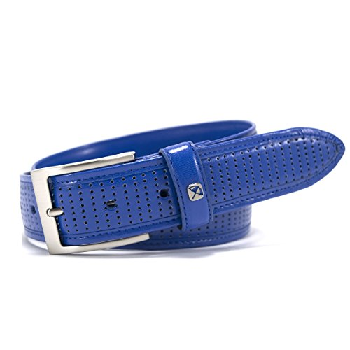 Arnold Ornament - Arnold Palmer Golf- Perforated Feather Edge Belt