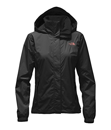 The North Face Women's Resolve Jacket (Small, TNF Black/Rose Dawn) (North Face Resolve Jacket Womens)