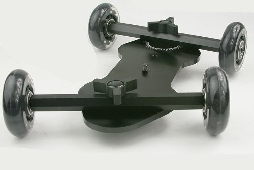 Large Table Flex Dolly Video Stabilization System for DSLR Cameras & ()