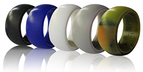 Silicone Wedding Rings Men FitME