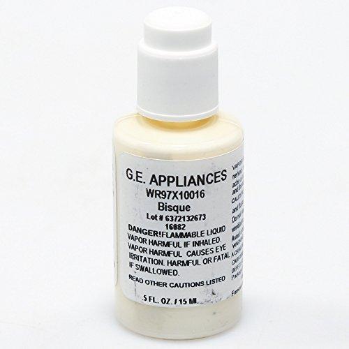 Price comparison product image Ge WR97X10016 Appliance Touch-Up Paint,  1 / 2-oz (Bisque) Genuine Original Equipment Manufacturer (OEM) Part,  Bisque