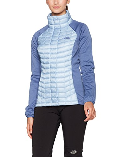 The North Face W Thermoball Hybrid Full Zip Chaqueta con Cremallera, Mujer Azul (Chbrbl/Cstfjdbl)
