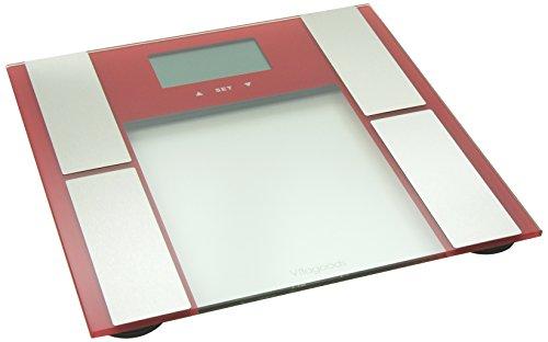 Vitagoods Digital Body Analyzer Scale,red