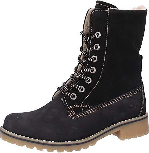 Tamaris Schwarz Damen Boots Combat 26443 rwYxzXUY