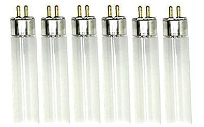 Pyramid Bulbs P58174 - F8T5/CW, 8 Watt, 12 Inch T5 Linear Fluorescent bulb, 4100K, Mini Bi Pin Base, 6 Pack