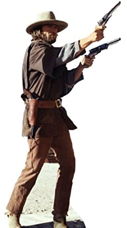 CLINT EASTWOOD THE OUTLAW JOSEY WALES LIFESIZE CARDBOARD STANDUP