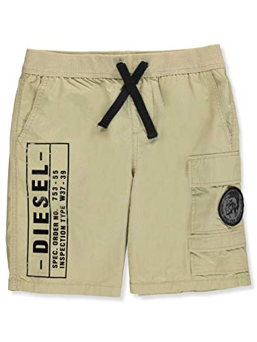 Diesel Big Boys' Shorts - Light Khaki, 8