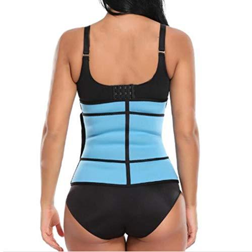 ONERIOME New Fashion Women Body Shaping Zipper Abdomen Belt Sports Belt Bustiers & Corsets