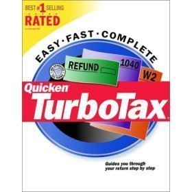 *NEW* Quicken Turbotax 2000 Federal Tax Return Software for Windows - Turbo Tax