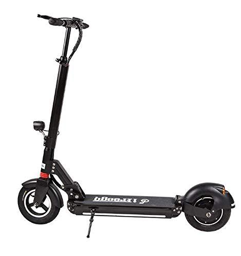 IFreego Scooter Elettrico Max velocità 40km/h 10 inch Pneumatico 50-60 km a Lungo Raggio Pieghevole Bluetooth Musica LG Lithium Batteria Ricaricabile per Adulti e Bambini