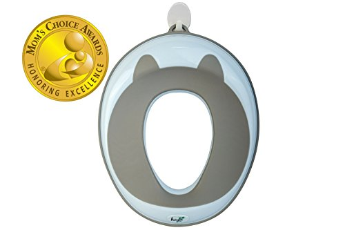 Potty Chair Little (Potty Training Seat (Mom's Choice Award Winner) for Kids , Toddlers & Infants - Portable Ring Chair for Round/Oval Toilets - Safe, Durable, Non-Slip with Urine Guard | Bonus 2 Hooks&Safety Lock)